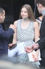 KRISTINE FROSETH at Chanel Forest Runway Show in Paris 03/06/2018
