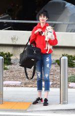 KRYSTEN RITTER Arrives at Los Angeles International Airport 03/16/2018