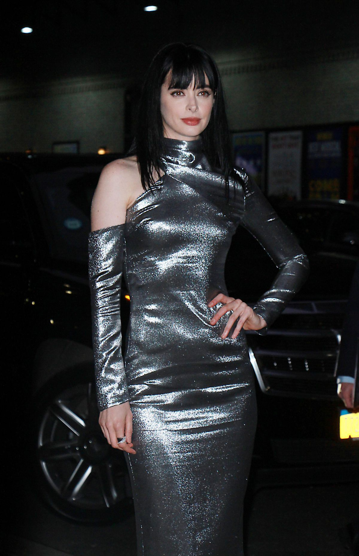 KRYSTEN RITTER at Late...