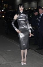 KRYSTEN RITTER at Late Show With Stephen Colbert in New York 03/01/2018