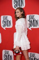 KSENIJA LUKICH at Love, Simon Premiere in Sydney 03/18/2018