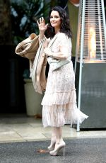 KYLE RICHARDS Arrives at Khloe Kardashian