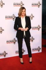 KYLIE GILLIES at The Book of Mormon Opening Night in Sydney 03/09/2018