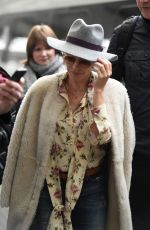 KYLIE MINOGUE at Piccadilly Train Station in Manchester 03/23/2018