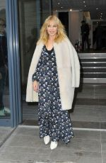 KYLIE MINOGUE Leaves Fun Radio in Paris 03/20/2018
