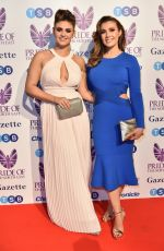 KYM MARSH and EMILY CUNLIFFE at Pride of the North East Awards in Newcastle 03/27/2018