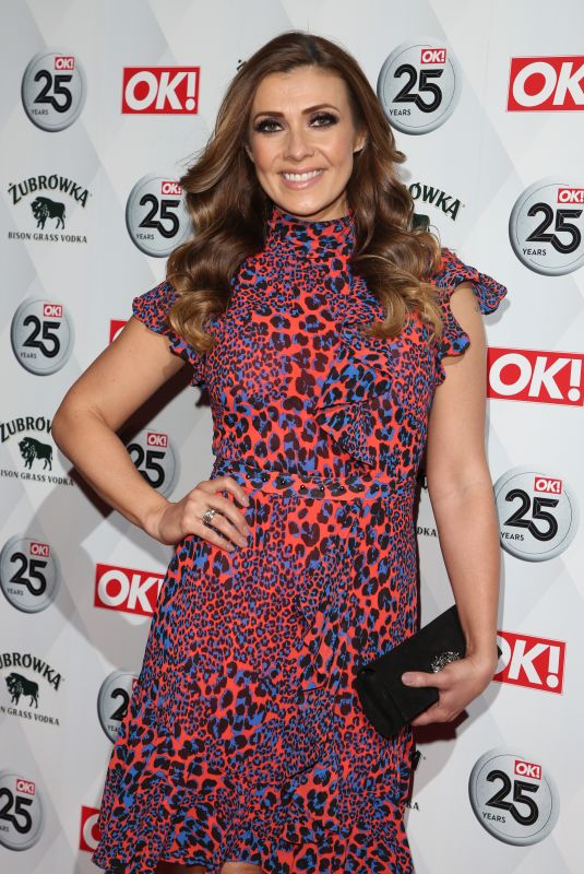KYM MARSH at OK! Magazine's 25th Anniversary in London 03/21/2018