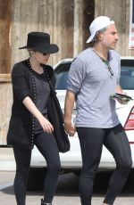LADY GAGA and Christian Carino Out Shopping in Malibu 03/18/2018