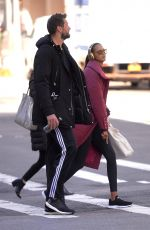LAIS RIBEIRO and Jared Homan Out in New York 02/27/2018
