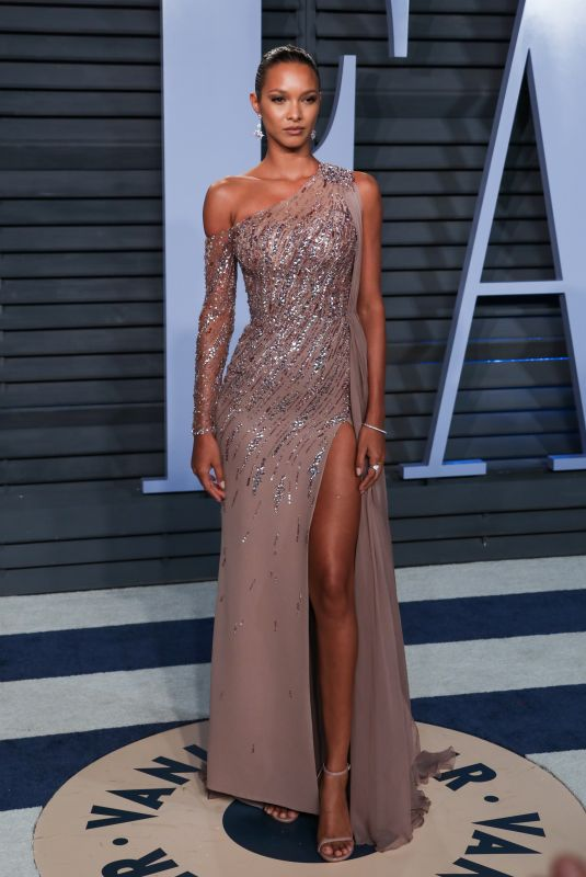 LAIS RIBEIRO at 2018 Vanity Fair Oscar Party in Beverly Hills 03/04/2018
