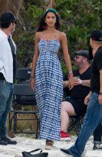 LAIS RIBEIRO on the Set of a Photoshoot in Miami 03/07/2018