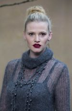 LARA STONE at Chanel Forest Runway Show in Paris 03/06/2018