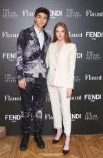 LARSEN THOMPSON at Fendi x Flaunt Celebrate New Fantasy Issue in Los Angeles 03/21/2018