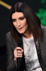 LAURA PUASINI Perfors at Che Tempo Che Fa in Milan 03/18/2018