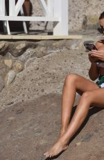 LAURA SIMPSON in Bikini on Vacation in Tenerife 03/23/2018