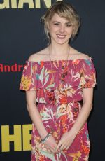 LAURA SLADE WIGGINS at Andre the Giant Premiere in Los Angeles 03/29/2018