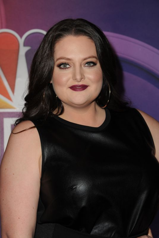 LAUREN ASH at NBC Midseason Press Junket in New York 03/08/2018