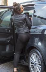LAUREN GOODGER Out and About in Essex 03/28/2018