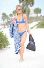 LAUREN HUBBARD in Bikini on the Beach in Miami 03/26/2018