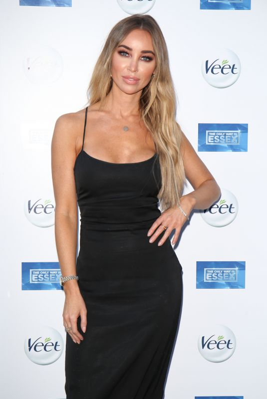 LAUREN POPE at The Only Way is Essex Premiere in Chigwell 03/19/2018