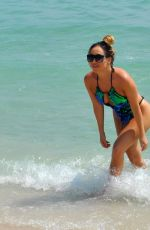 LAURYN GOODMAN in Swimsuit on the Beach in Cape Verde 03/02/2018