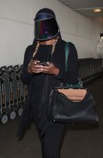 LAVERNE COX at Los Angeles International Airport 03/23/2018