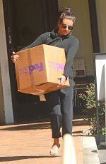 LEA MICHELE at Fedex in Los Angeles 03/26/2018
