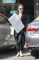 LEA MICHELE at Ups Store in Beverly Hills 03/26/2018