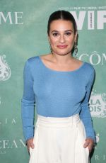 LEA MICHELE at Women in Film Pre-oscar Cocktail Party in Los Angeles 03/02/2018