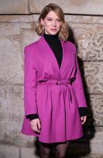 LEA SEYDOUX at Louis Vuitton Fashion Show in Paris 03/06/2018