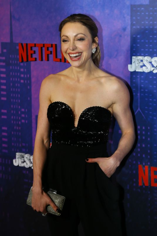 LEAH GIBSON at Jessica Jones Season 2 Premiere in New York 03/07/2018