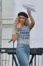 LEONA LEWIS at March for Our Lives Rally in Los Angeles 03/24/2018