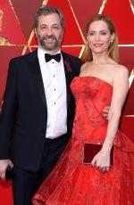 LESLIE MANN at 90th Annual Academy Awards in Hollywood 03/04/2018