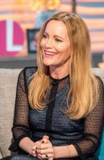 LESLIE MANN at Lorraine Show in London 03/20/2018