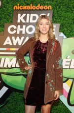 LEXI DIBENEDETTO at Nickelodeon Kids' Choice Awards Slime Soiree in Venice 03/23/2018