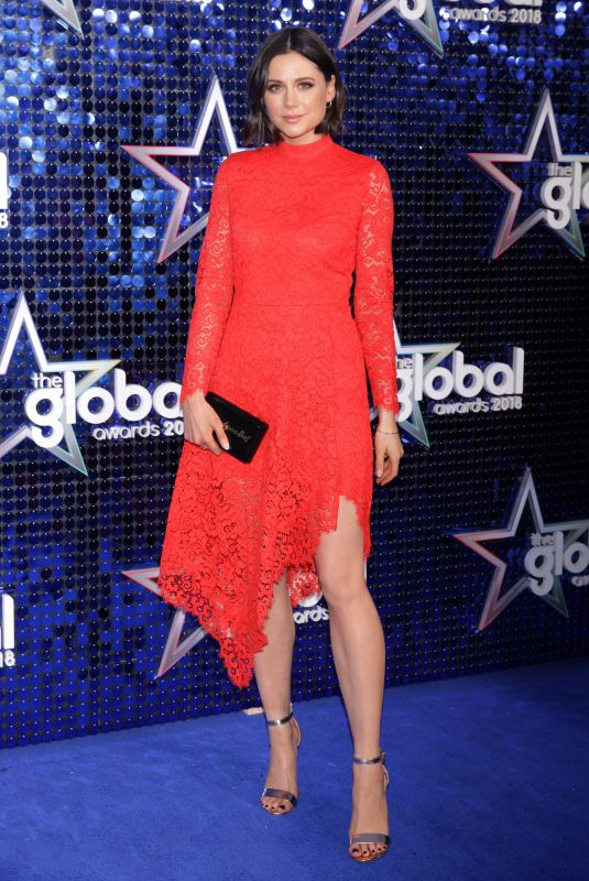 LILAH PARSONS at Global Awards 2018 in London 03/01/2018