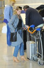 LILI REINHART at CDG Airport in Paris 03/30/2018