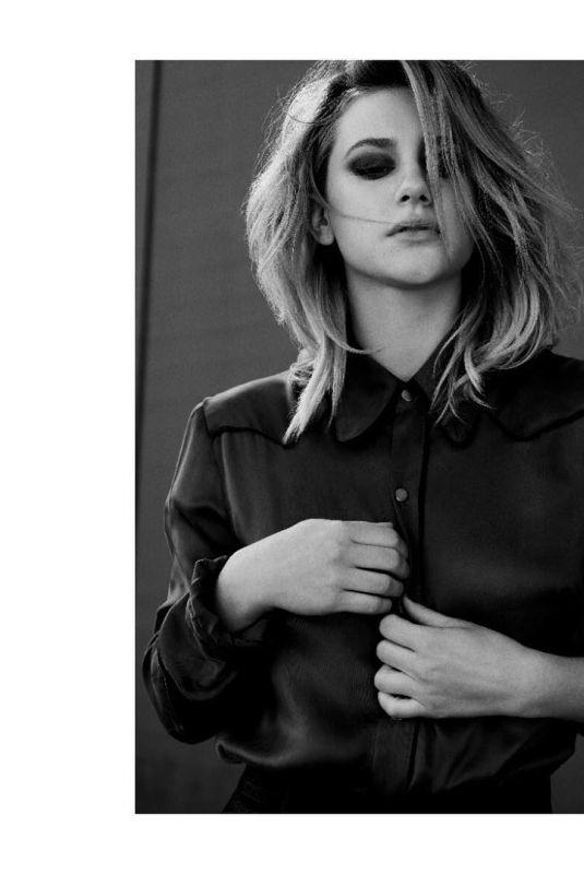 LILI REINHART for Flaunt Magazine, 2018