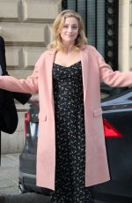 LILI REINHART Leaves Her Hotel in Paris 03/31/2018