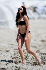 LILLY BECKER in Bikini on the Beach in Miami 03/25/2018