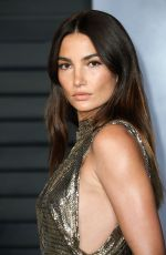 LILY ALDRIDGE at 2018 Vanity Fair Oscar Party in Beverly Hills 03/04/2018