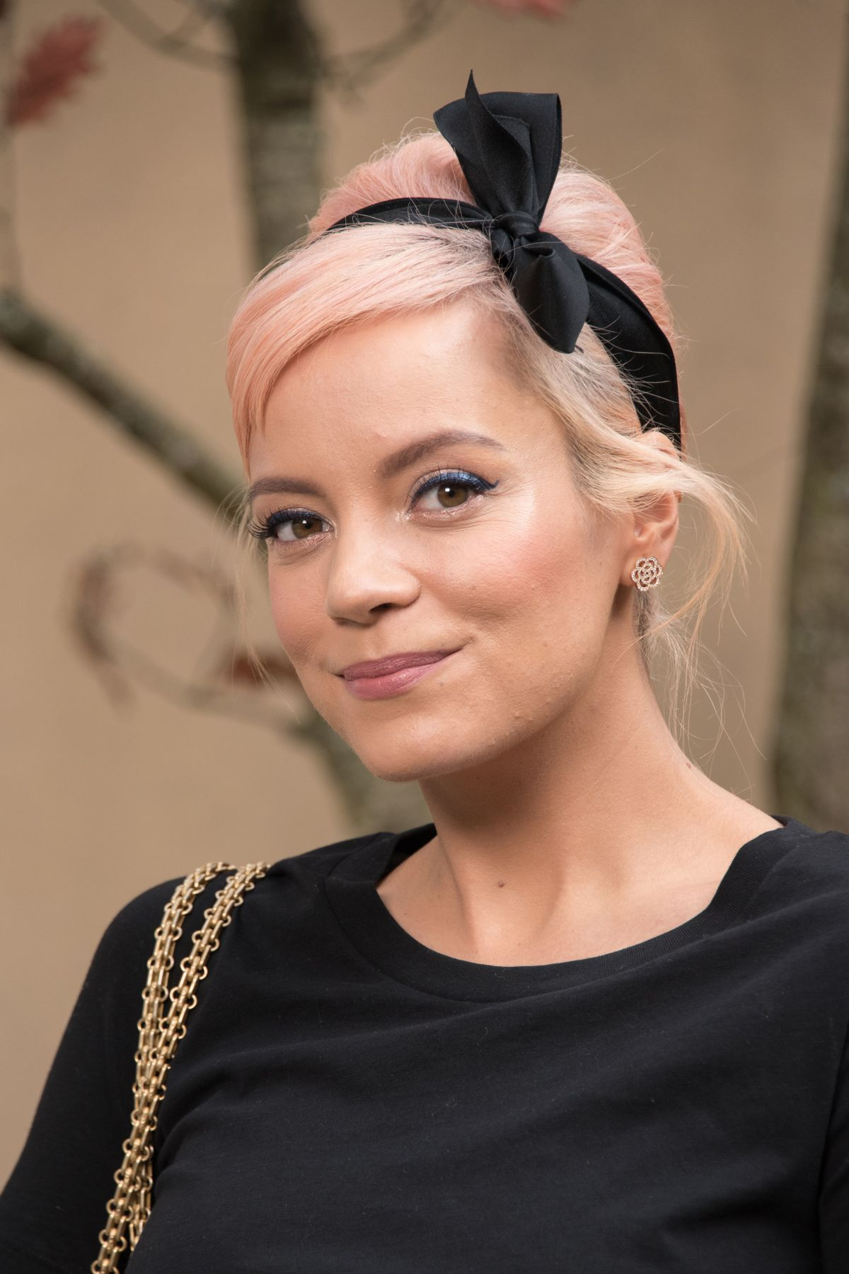 LILY ALLEN at Chanel F... Lily Allen