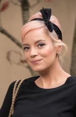 LILY ALLEN at Chanel Forest Runway Show in Paris 03/06/2018