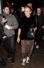 LILY ALLEN Leaves Gorilla in Manchester 03/20/2018