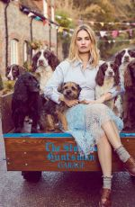 LILY JAMES for Harper's Bazaar Magazine, UK April 2018