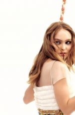 LILY-ROSE DEPP for Coco Rouge Lip Blush 2018 Campaign