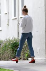 LILY-ROSE DEPP Leaves Acupuncture Clinic in Los Angeles 03/20/2018