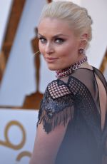 LINDSEY VONN at 90th Annual Academy Awards in Hollywood 03/04/2018