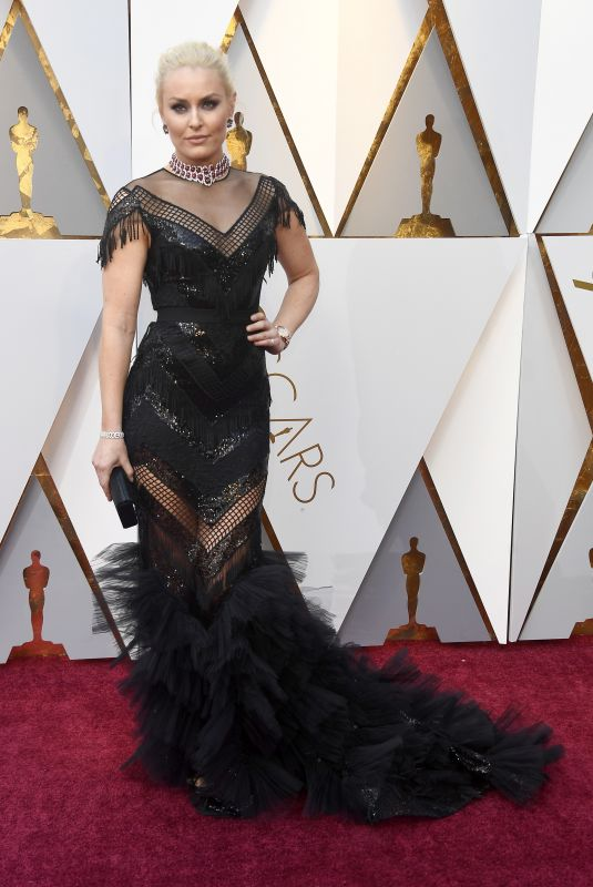 LINDSEY VONN at Oscar 2018 in Los Angeles 03/04/2018