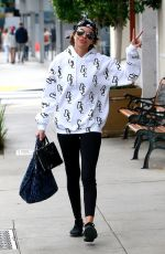 LISA RINNA Leaves Soulcycle in Beverly Hills 03/24/2018
